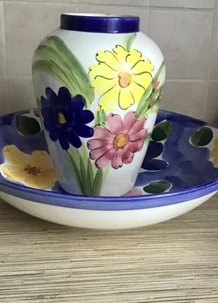 Ваза кувшин тарілка блюдо сервіз кераміка фарфор вінтаж колекція