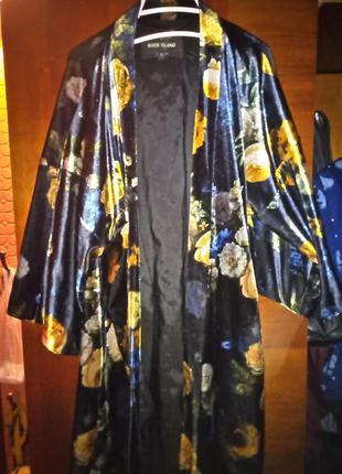 Очень красивая накидка кимоно велюр