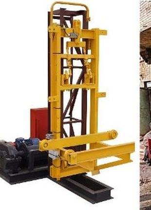 Н-75 метров г/п 750 кг. Строительные Подъёмники Секционные