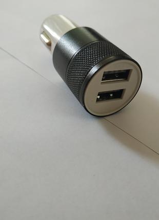 Автомобильное зарядное устройство 2 usb