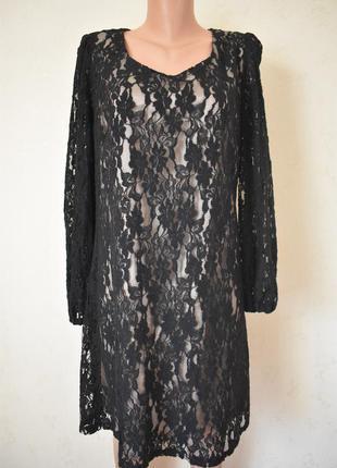 Красивое кружевное платье большого размера bhs