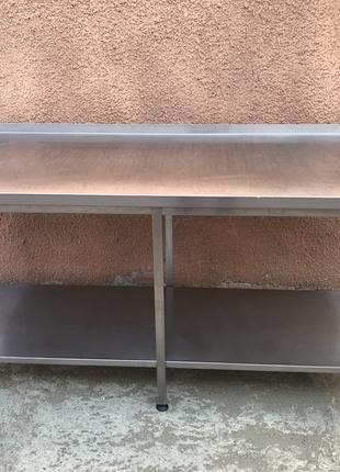 Стол 1700х700 и подставка 800х700 из нержавейки б/у