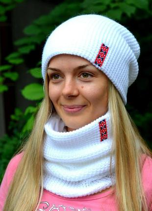 Комплект шапка + хомут freedom