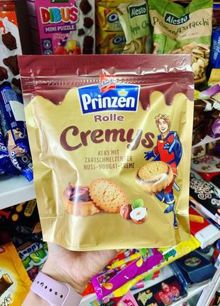 еченье Prinzen Rolle Cremys в форме корзинок с шоколадно-ореховой