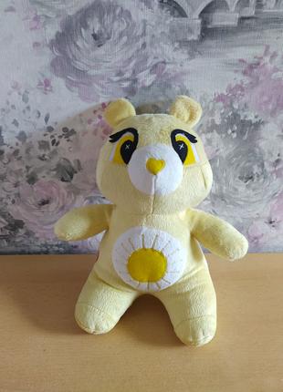 Мягкая плюшевая игрушка заботливый мишка медведь подарок рождения