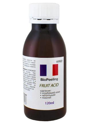 Био гель для педикюра, маникюра на основе фруктовых кислот bio...