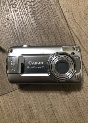 Продам фотоаппарат Canon PowerShot A470