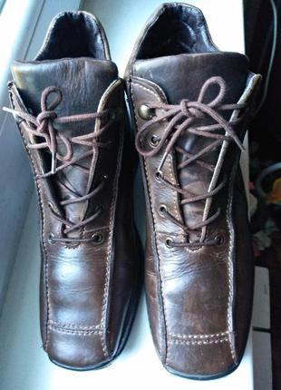 Зимние утепленные ботинки rohde германия  размер 38,5 р,стельк...