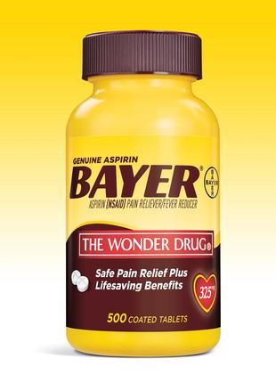Aspirin bayer США 325mg. 500шт.