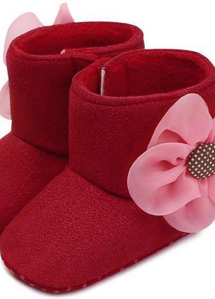 Пинетки осень весна-теплая зима на флисе пінетки взуття дитяче