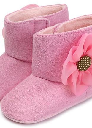 Пинетки осень весна - теплая зима на флисе пінетки взуття дитяче