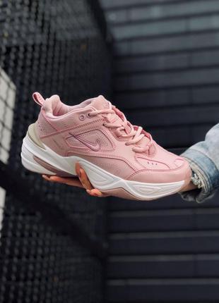 Кроссовки nike m2k tekno pink 2