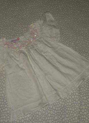 Нарядная блузка 5-6 лет