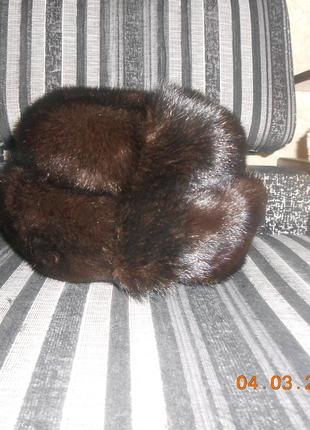 Женская Шапка меховая норковая размер 55-56