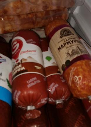 Некондиция деликатесы и колбаси