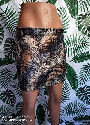 ❌❗ юбка карандаш змеиный принт ❗❌
