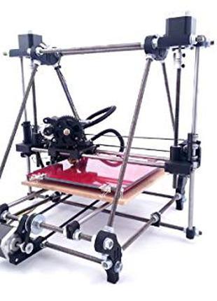 Prusa I2, модернизирован под шпильки M10, 3Д принтер