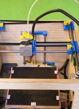 X3D XS COREXY, 3Д принтер, Пластиковые детали