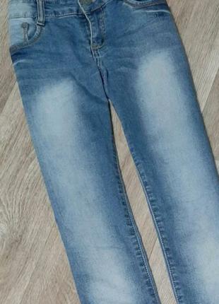 Стильные джинсы / jeans / skinny/ голубые джинсы / штаны /