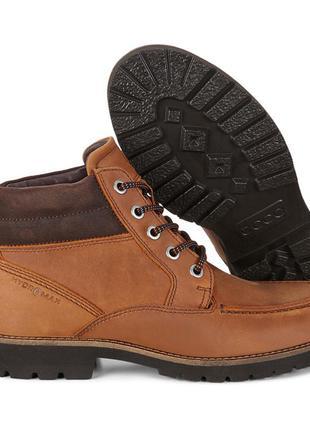 Ботинки ecco jamestown. оригинал. размер 42.