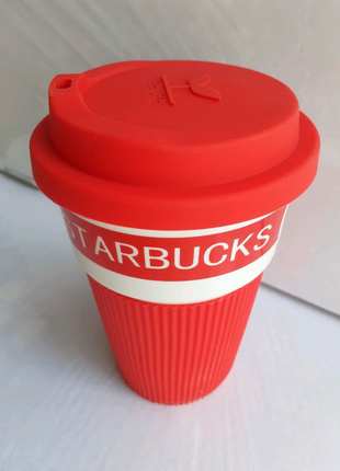 Термокружка Starbucks.