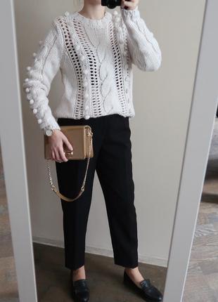 Новый брендовый шерстяной свитер / 25% шерсть / якісний светр/...
