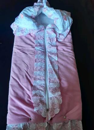 Конверт новорожденной