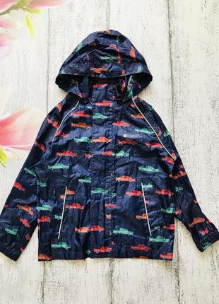 Крутая куртка ветровка дождевик с капюшоном машинки mountain w...