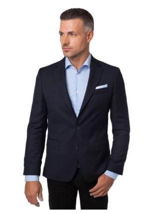 Пиджак темно-синий мужской Arber синий