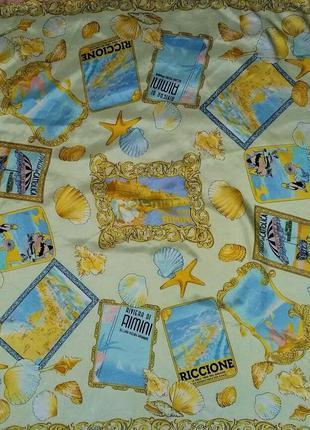 Яркий шелковый платок от бренда codello оригинал