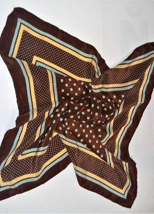 Шелковый шейный платок гаврош италия
