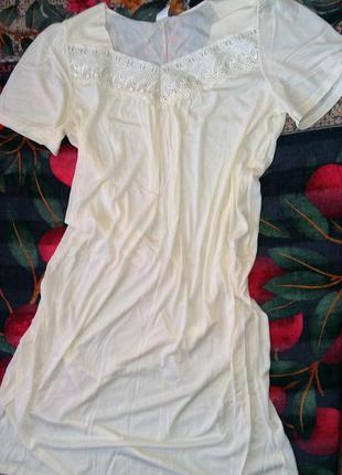 Шикарная женская  ночная рубашка сорочка