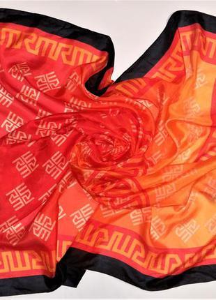 Шикарный шелковый платок ricarda m германия /4049/
