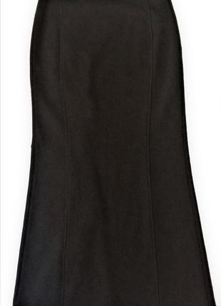Шикарная эксклюзивная шерстяная юбка макси blacky dress berlin...