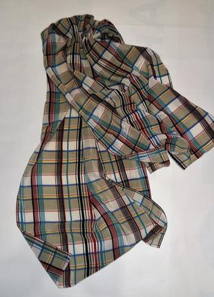 Стильный шелковый шарф швейцария