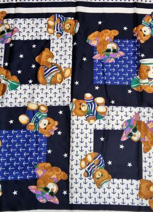 Модный платок мишки италия