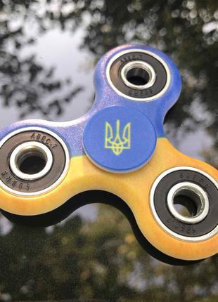 Спинер Патриот Fidget Spinner Флаг и герб Украины