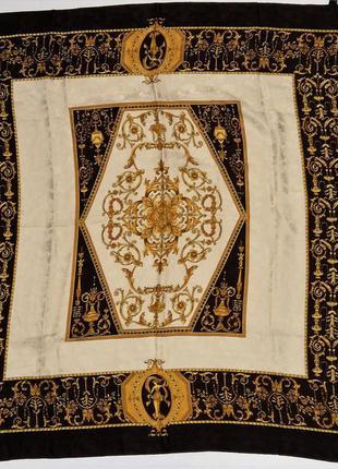 Шикарный винтажный шелковый платок италия /4065/