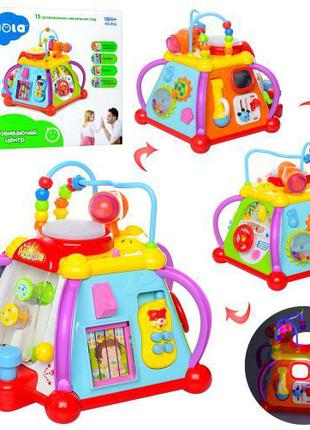 Развивающий центр Мультибокс Маленькая вселенная Huile Toys 806
