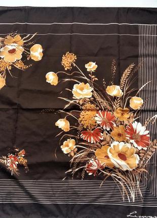 Красивый платок leonardi италия