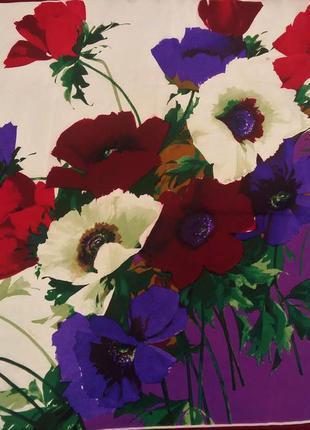 Красивый винтажный шелковый платок codello