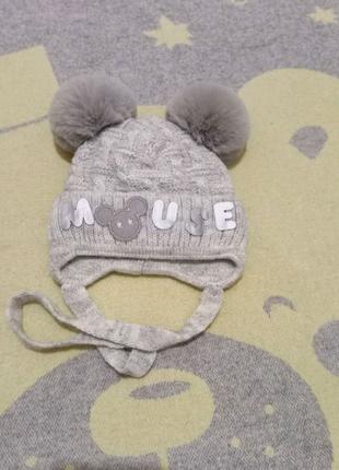 Новая зимняя шапочка шапка