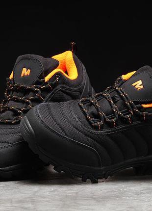 Зимние мужские кроссовки 31273 ► merrell vibram, черные