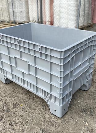 Крупногабаритный пластиковый контейнер, Пластикові контейнери