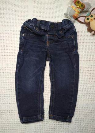 Стрейчевые джинсовые штаны джинсы на мальчика 6-9 месяцев 💥 ра...