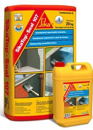 SikaTop® Seal -107 - Эластичная минеральная гидроизоляция