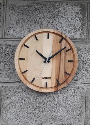 Часы настенные в современном дизайне, настенные часы, деревянн...