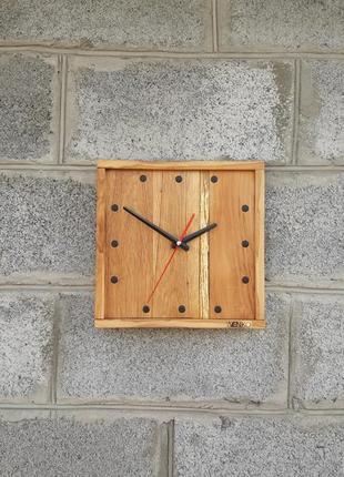 Настенные часы в современном дизайне, деревянные настенные часы