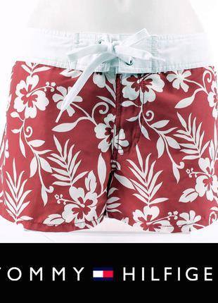 Шорты с лампасами цветочный TOMMY HILFIGER Original р.M-L(EU42)