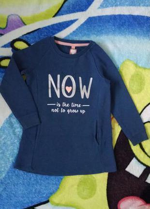 Теплое платье,туника для девочки 3-4 года